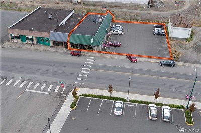 McCleary Commercial For Sale: 124 W Simpson Ave