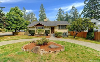 Shoreline Single Family Home For Sale: 14820 Greenwood Ave N