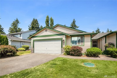 Puyallup Single Family Home For Sale: 16201 72nd Av Ct E