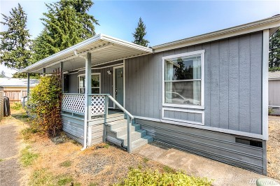 Puyallup Mobile Home For Sale: 11109 127th St Ct E #3