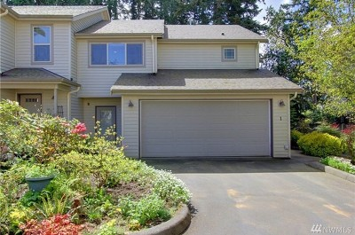Edmonds Single Family Home For Sale: 20806 72nd Ave W #1