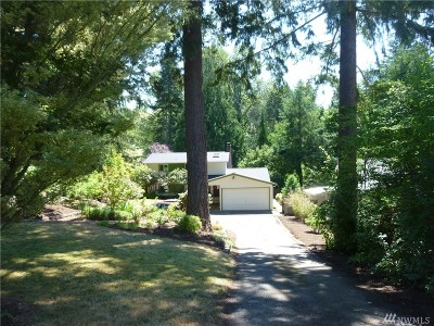 Kenmore Single Family Home For Sale: 7619 NE 165th St