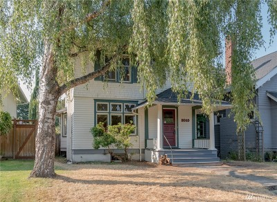 Tacoma Single Family Home For Sale: 3010 N 19th St