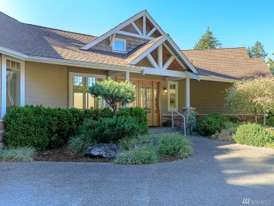 Gig Harbor Single Family Home For Sale: 7808 66th St NW