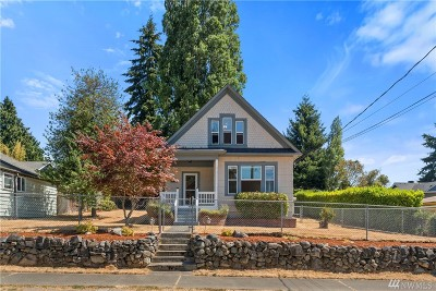 Tacoma Single Family Home For Sale: 1245 S Adams St