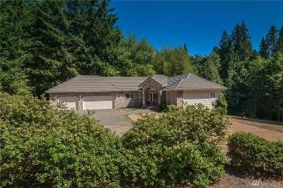 Olympia Single Family Home For Sale: 4436 Sunrise Heights Lane NW