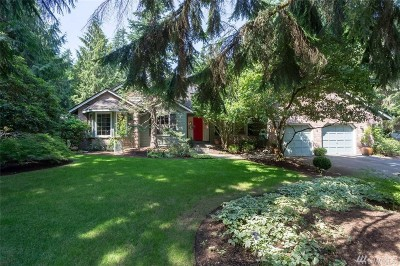 Woodinville Single Family Home For Sale: 15421 184th Ct NE