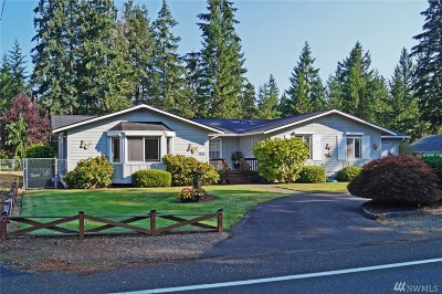 Shelton WA Single Family Home Sold: $345,000