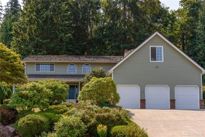 Issaquah Single Family Home For Sale: 2225 Squak Mountain Loop SW
