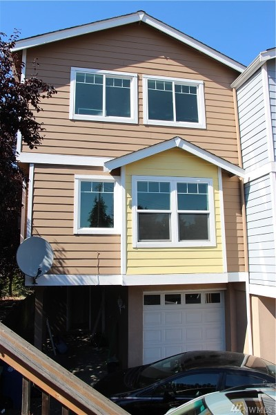 Burien Condo/Townhouse For Sale: 1086 SW 130th St #8