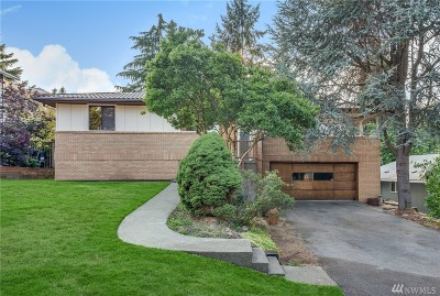 Burien Single Family Home For Sale: 16515 19th Ave SW