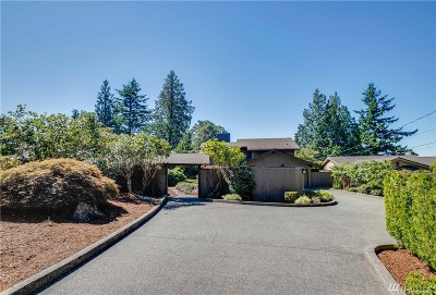 Edmonds Single Family Home For Sale: 12604 Marine View Dr