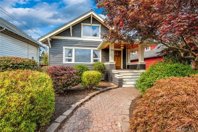 Seattle Single Family Home For Sale: 310 NW 78th St