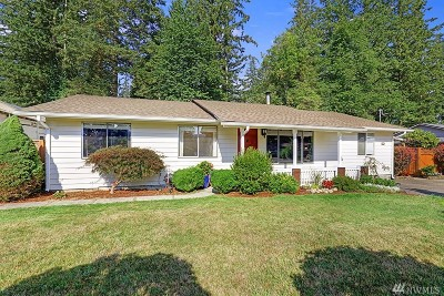 Carnation, Duvall, Fall City Single Family Home Contingent: 4243 327th Place SE