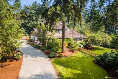 Woodinville Single Family Home For Sale: 13424 184th Ave NE