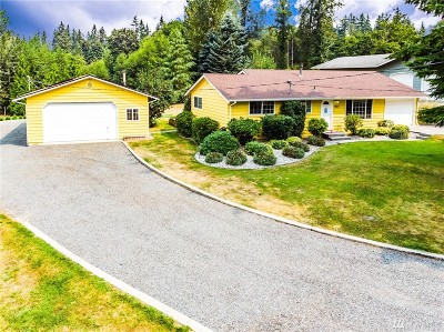 Snohomish Single Family Home For Sale: 7627 176th St SE