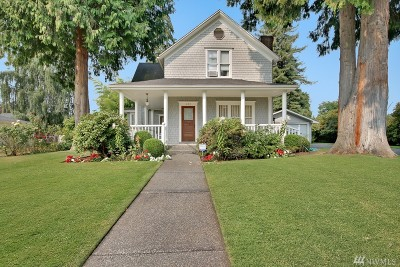 Puyallup Single Family Home For Sale: 432 14th St SW