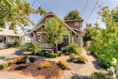 Puyallup Single Family Home For Sale: 123 10th St SW