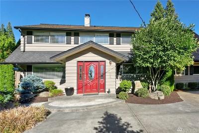 Kirkland Single Family Home For Sale: 4724 108th Ave NE