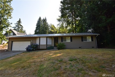 Stanwood Single Family Home For Sale: 17925 67th Ave NW