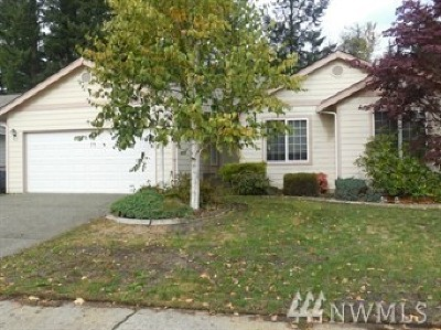 Puyallup Rental For Rent: 12917 168th St Ct E