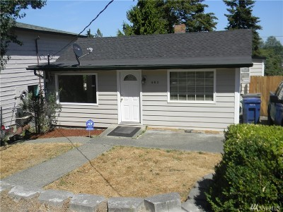 Renton Single Family Home For Sale: 462 Lind Ave NW