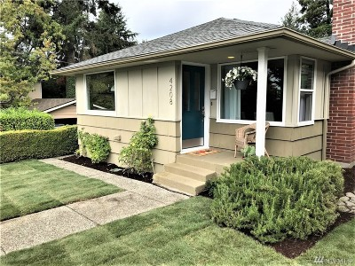 Seattle Single Family Home For Sale: 4208 SW Thistle St