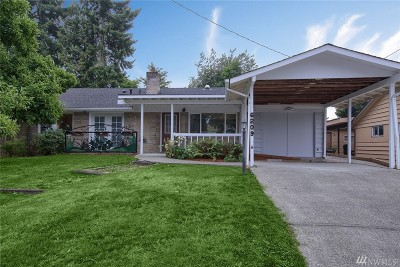 Seattle Single Family Home For Sale: 6209 S 118th Place