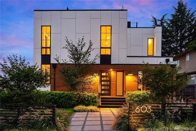 Seattle Single Family Home For Sale: 603 W Kinnear Place