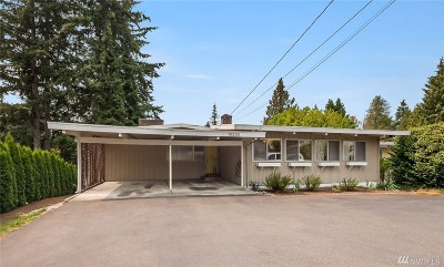 Edmonds Single Family Home For Sale: 19230 88th Ave W