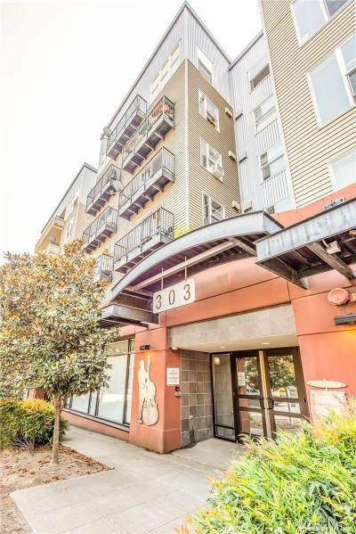 Seattle Condo/Townhouse For Sale: 303 23rd Ave S #607