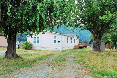 Sedro Woolley Single Family Home Sold: 7695 Medford Rd