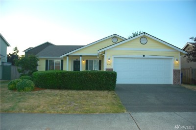 Spanaway Single Family Home For Sale: 8321 203rd St Ct E