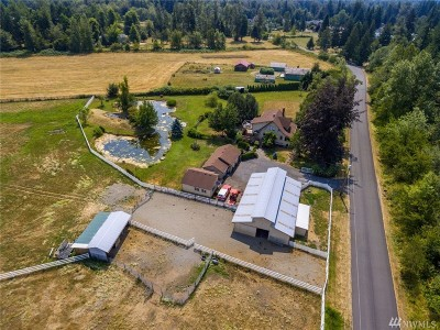 Enumclaw Single Family Home For Sale: 46732 248th Wy SE