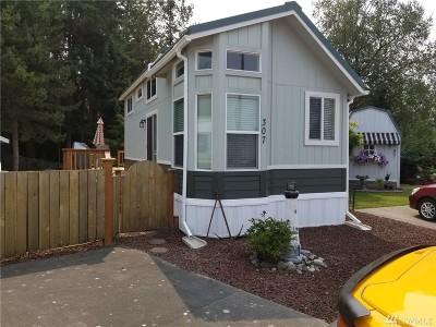 Blaine Condo/Townhouse Sold: 4751 Birch Bay Lynden #307