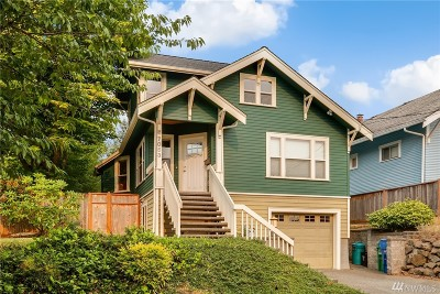 Seattle Single Family Home For Sale: 7053 22nd Ave NW