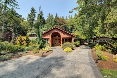 Redmond Single Family Home For Sale: 7325 259th Place NE