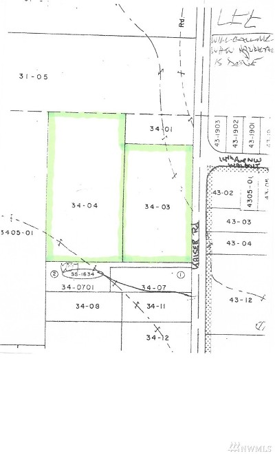 Residential Lots & Land For Sale: 1401 Kaiser Rd NW