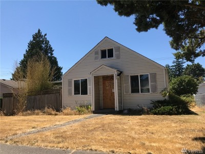Tacoma Single Family Home For Sale: 6630 S Oakes St