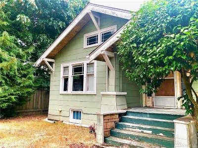 Seattle Single Family Home For Sale: 9248 6th Ave NW