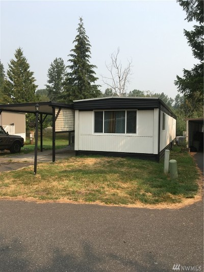 Whatcom County Mobile Home For Sale: 4000 Flynn St #39