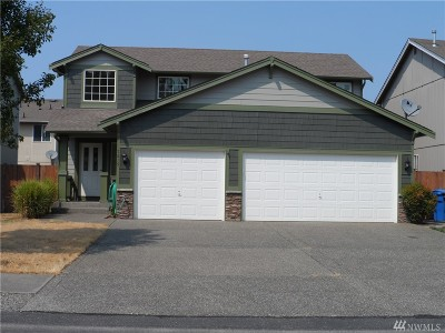 Spanaway Single Family Home For Sale: 7815 207th St E