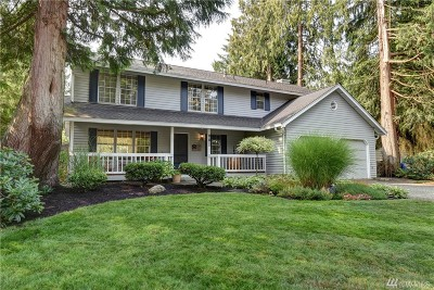 Sammamish Single Family Home For Sale: 21911 NE 18th St