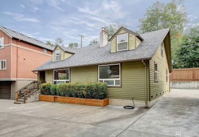 Seattle Single Family Home For Sale: 5202 Delridge Wy SW