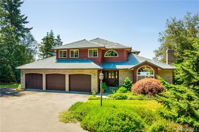Skagit County Single Family Home For Sale: 18720 Quail Dr