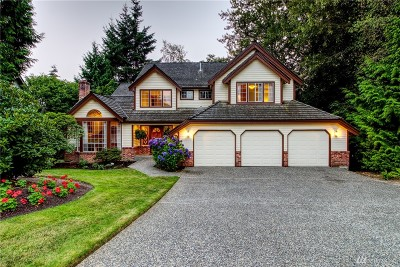 Bothell Single Family Home For Sale: 10907 NE 157th St