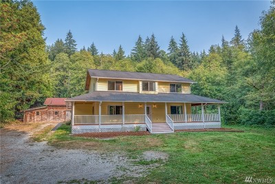 Sedro Woolley Single Family Home Sold: 1355 Butler Creek Rd