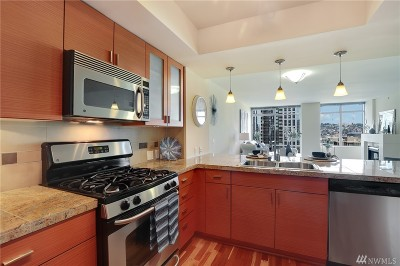 Seattle Condo/Townhouse For Sale: 819 Virginia St #1801