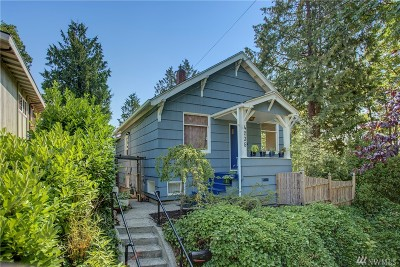 Seattle Single Family Home For Sale: 4235 S Dawson St