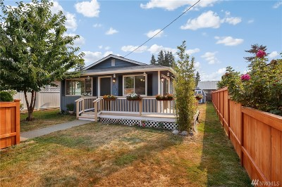 Snohomish Single Family Home For Sale: 713 Ford Ave